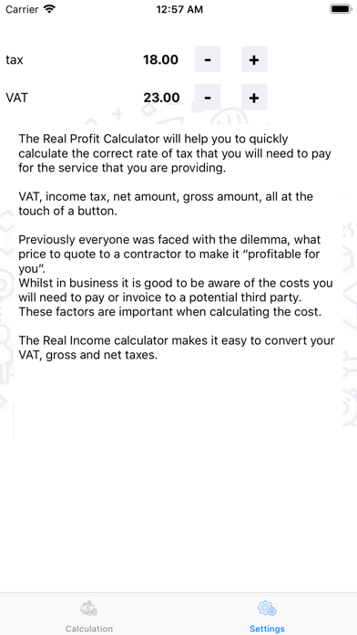 TaxCalc screenshot three