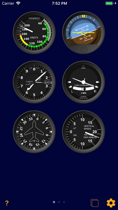 In-Flight Instruments Screenshots