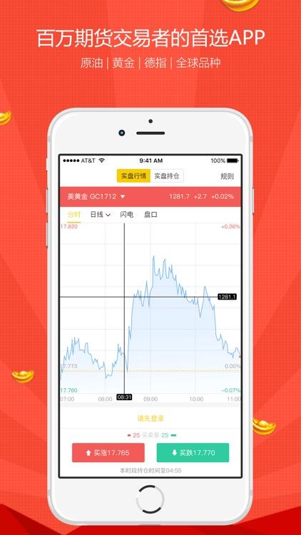 期货投资宝-原油黄金外盘期货开户软件