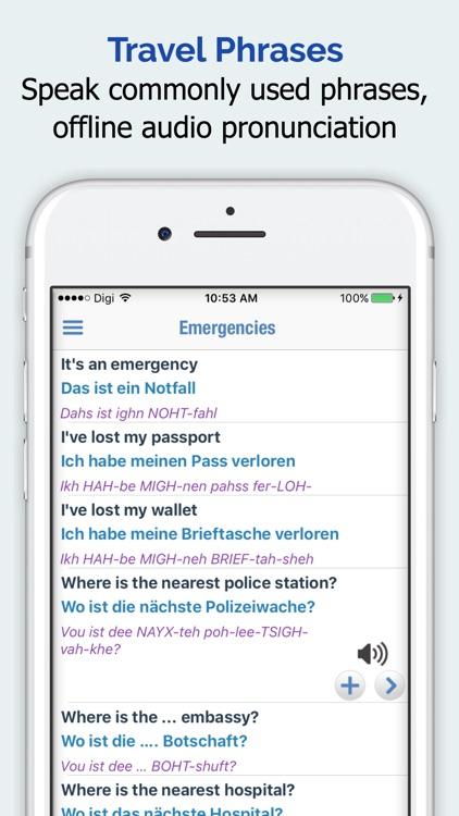 German Dictionary Elite screenshot-3