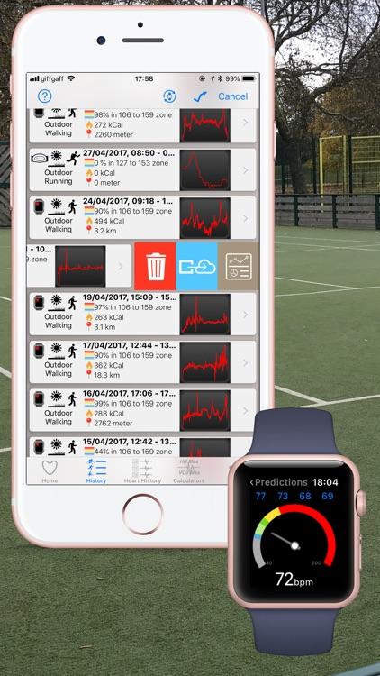Cardio Workout and Analytics screenshot-4