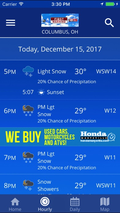 how to get weather alerts on my android phone