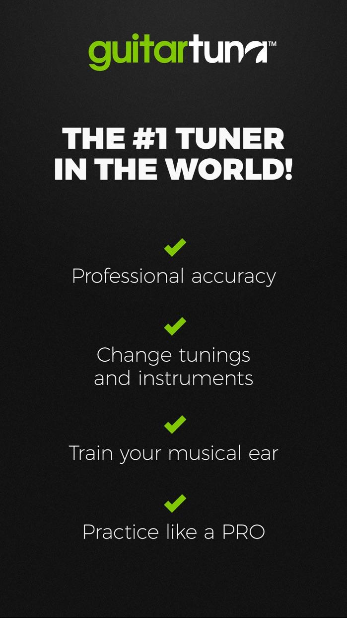 GuitarTuna: Guitar, Bass tuner Screenshot