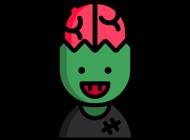 Zombie Stickers - HQ Mojis