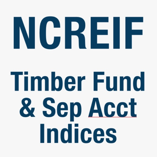 NCREIF Timberland Fund & Separate Account Indices
