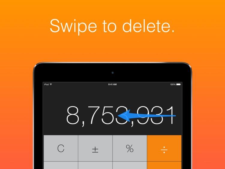Calculator HD (for iPad) screenshot-3