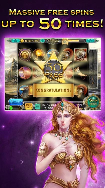 Slots™ HD - Titan's Way screenshot-3