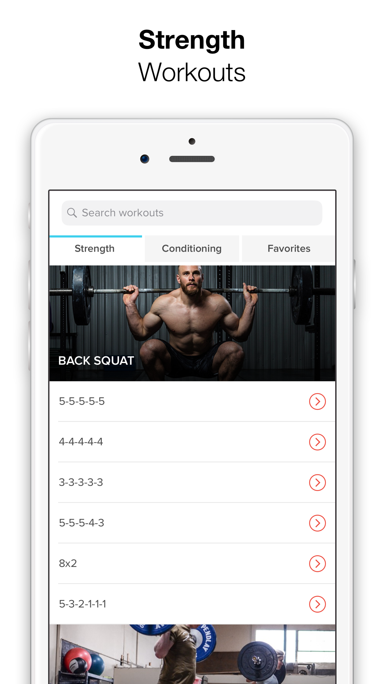 Keelo - Strength HIIT Workouts Screenshot