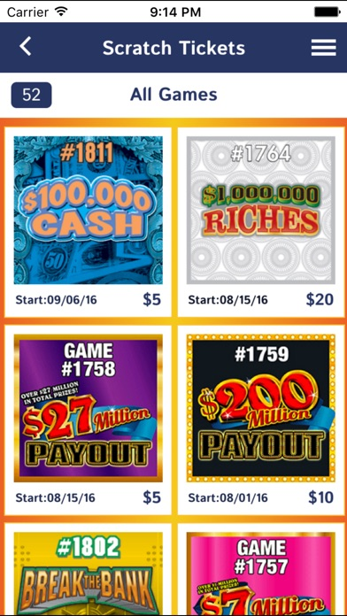 Ohio Lottery Ticket Barcode Scanner App Android