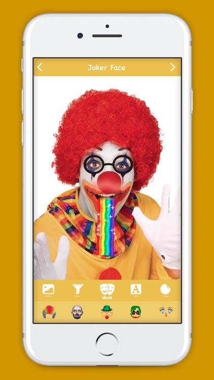 Joker Face Editor screenshot-3