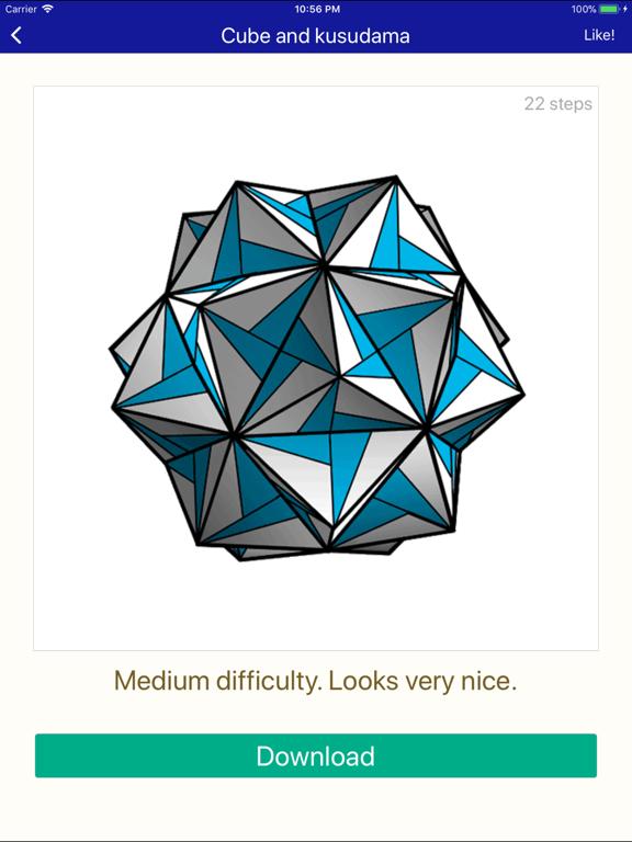 ORIGAMI 3D: explore new magic paper creations screenshot