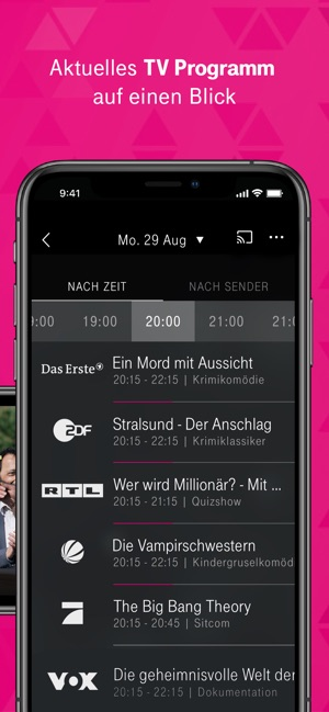 Magentatv Serien Tv Streaming Im App Store