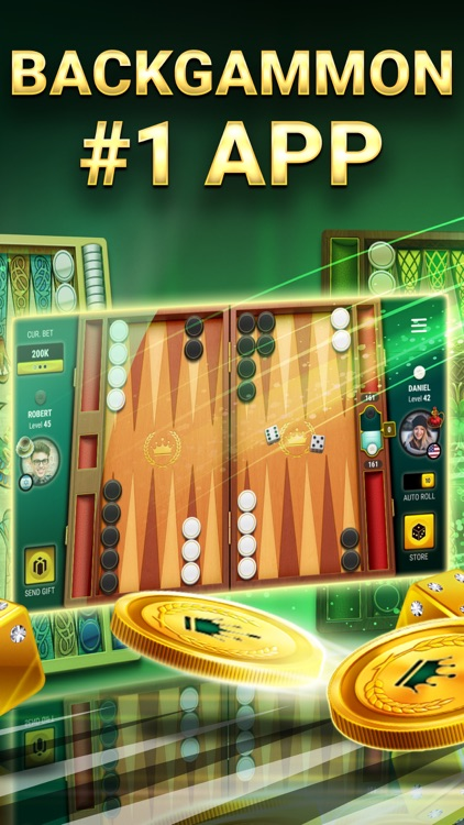 Backgammon Live™ #1 Board Game