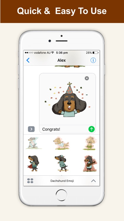 Dachshund Emoji Doxie Stickers screenshot-3