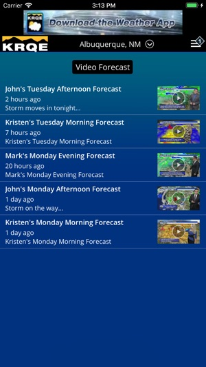 KRQE Weather - Albuquerque on the App Store