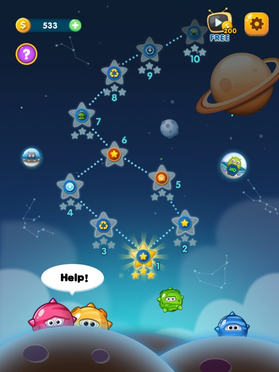 Star Link-Pokki Pop screenshot 6