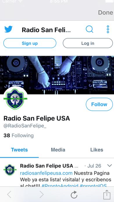Radio San Felipe USA screenshot two