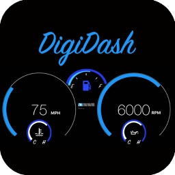 DigiDash: Speedometer