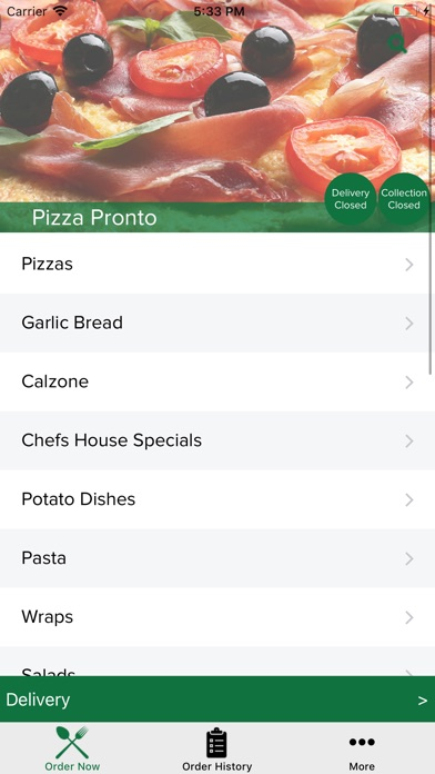 Pizza Pronto Redcar Apps 148apps