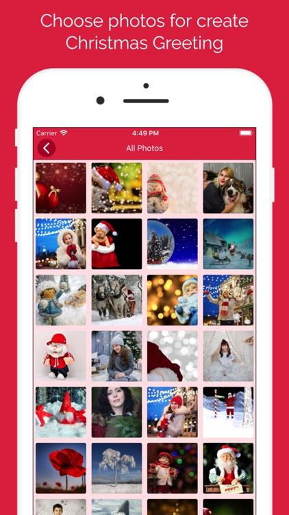 Christmas Photo Collage Frames screenshot-4