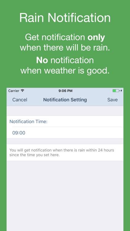 PP Weather - Weather Forecast & Rain Notification