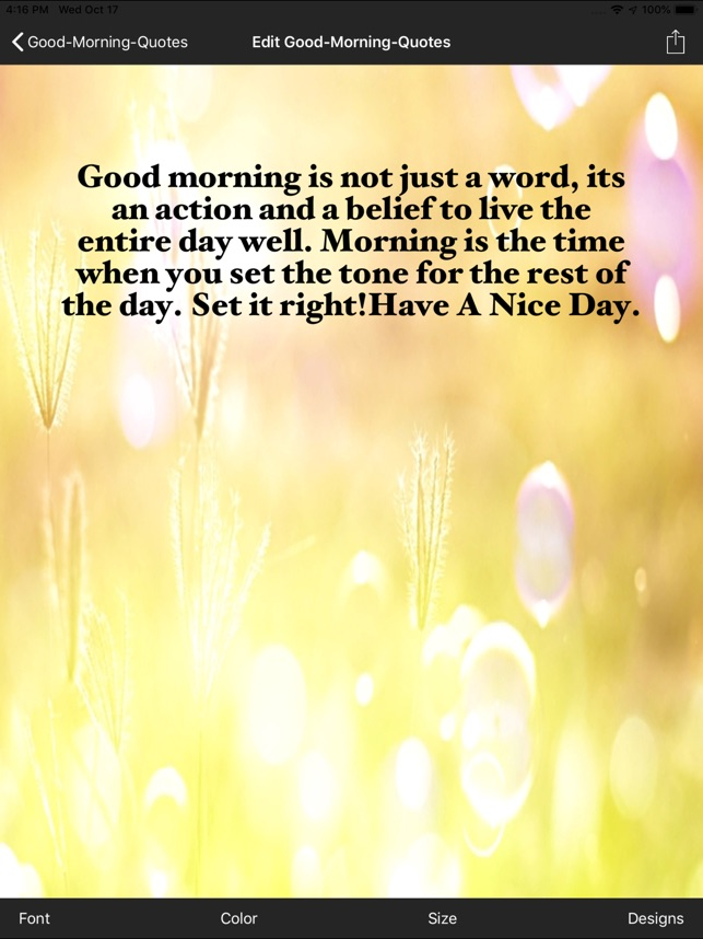 Good Morning Quotes On The App Store