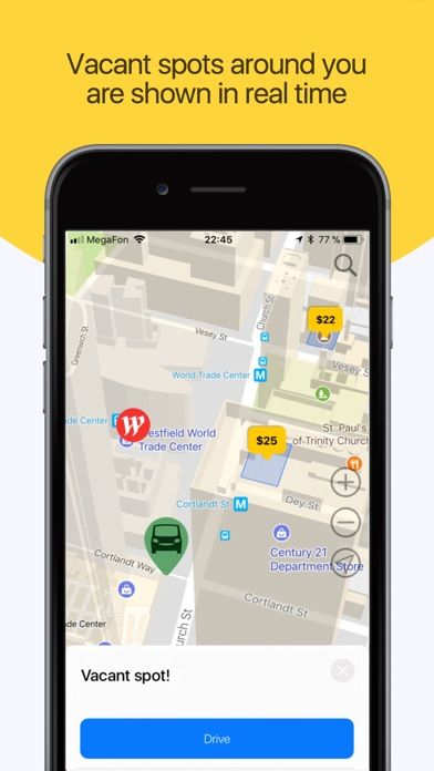 ParkApp parking screenshot one