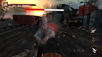 Zombie Ultimate Shooting War screenshot four