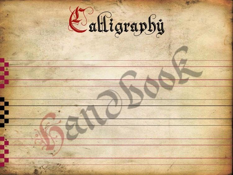Calligraphy Handbook screenshot-0