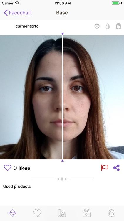 Facechart. Makeup & Looks screenshot-3