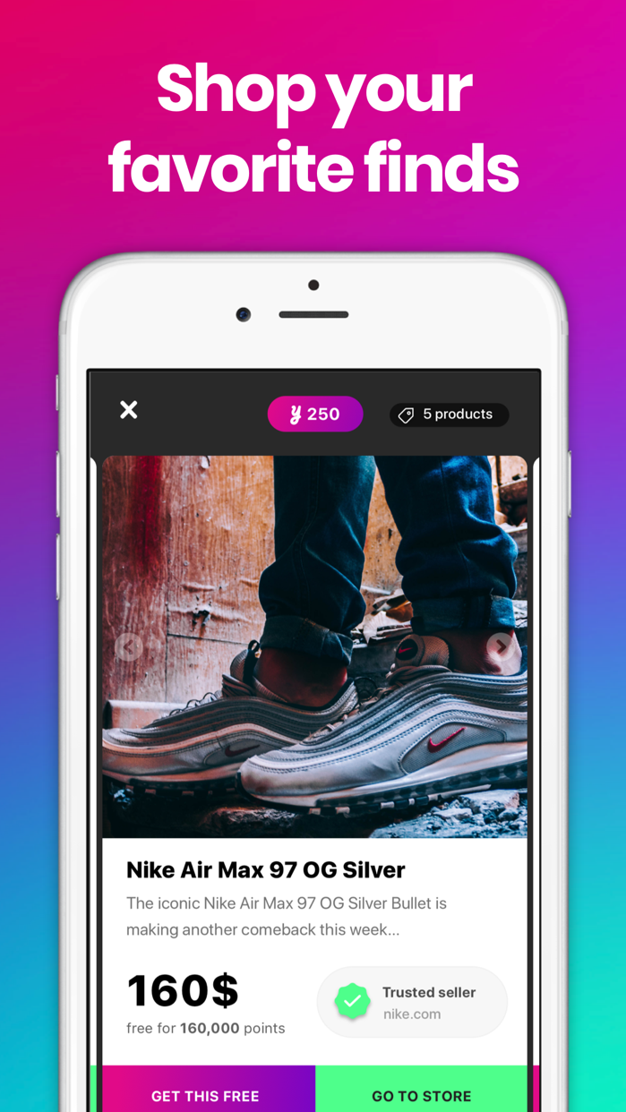 YEAY: Show and shop your style Screenshot