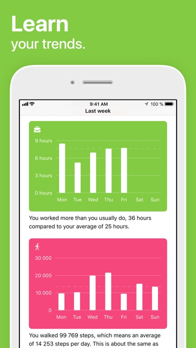 Life Cycle - Track Your Time ScreenShot1
