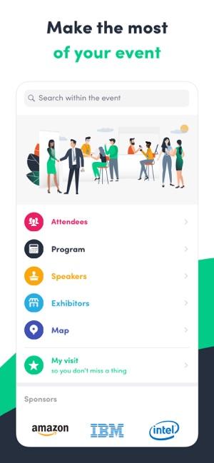 swapcard smart event app on the app store