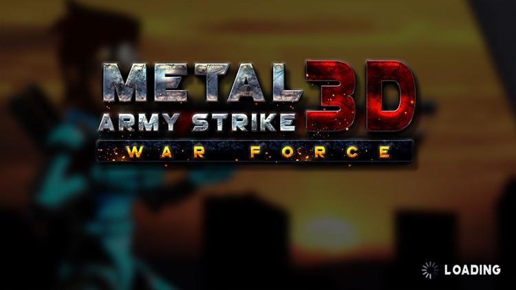 Metal Army Strike 3D War Force screenshot-3