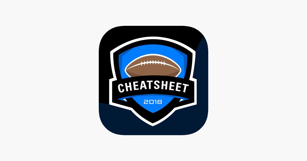 Cheatsheet 2018 On The App Store