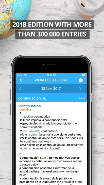 Oxford Spanish Dictionary 2018 screenshot-0