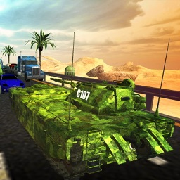 Tank Road Racing Combat & Traffic Rider Stunts