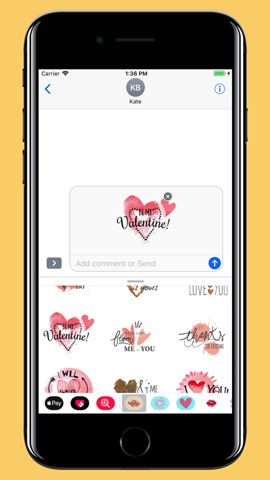Screenshot for Water-draw Happy Valentine day in Egypt App Store
