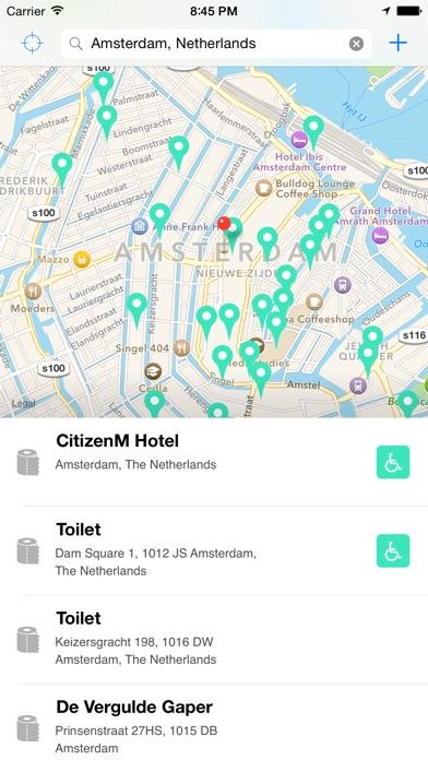 Flush Pro - Restroom Finder Screenshot 4