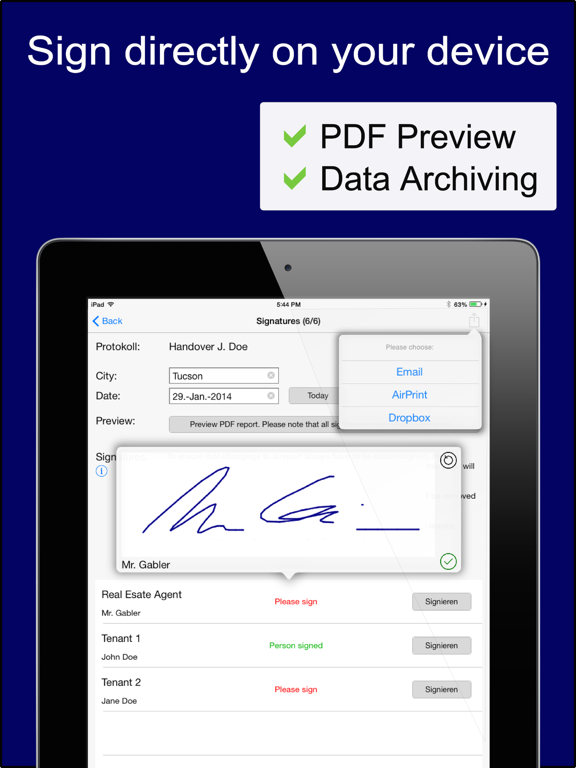 immoKing PRO - Turnover reports and checklists screenshot four