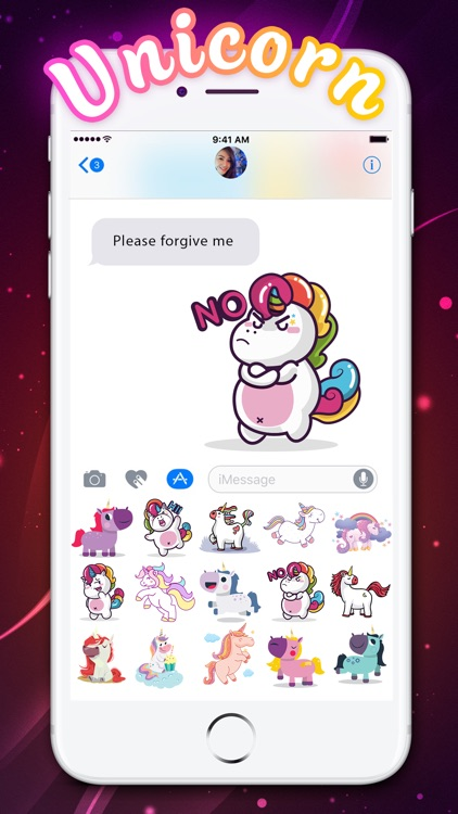 Little Unicorn Stickers Pack