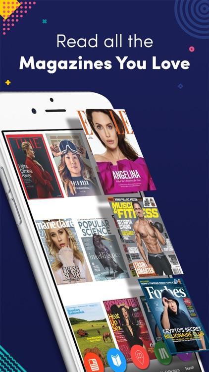 Magzter Newsstand screenshot-0