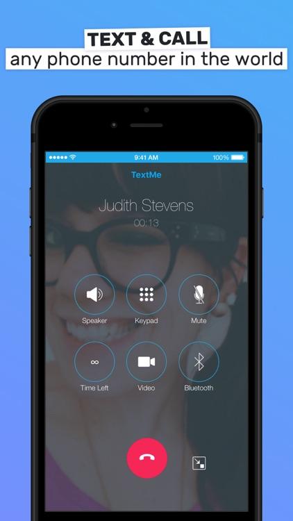 Text Me - Phone Calls + Text screenshot-3