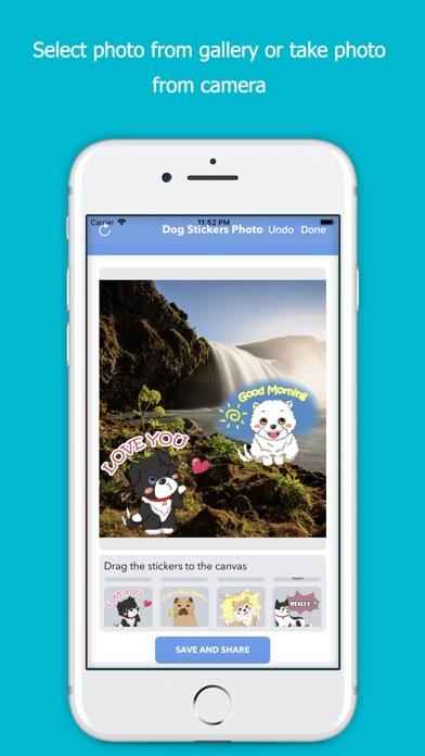 Dog Stickers Photo screenshot 1