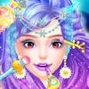 化妆美人鱼美皇后 - 美人鱼发妆换装女生游戏