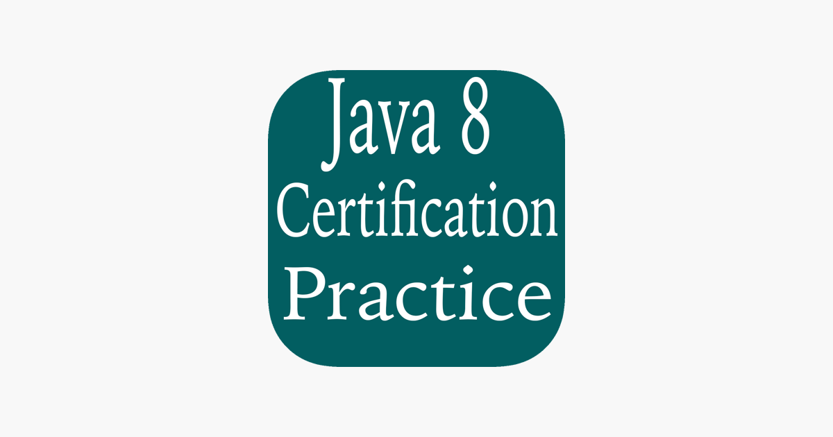 Java Certification Preparation On The App Store