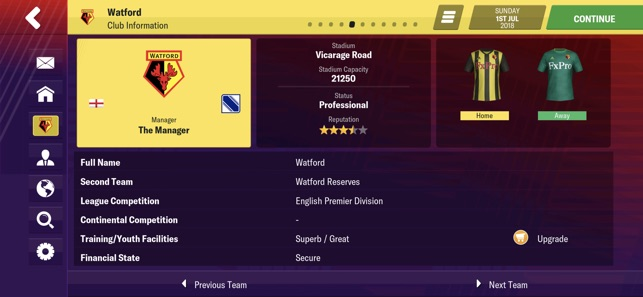 Football Manager 2019 Mobile Screenshot