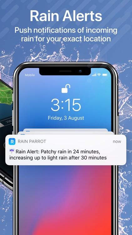 Rain Parrot