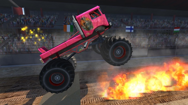 Monster Truck Crushing Power