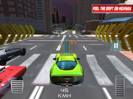 Racing Car:Smart City 2018 screenshot 6